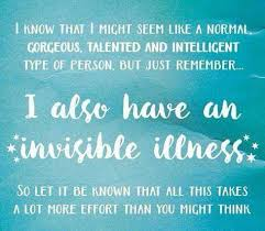 Invisible Illness Meme - 141 best invisible disabilities images on pinterest chronic