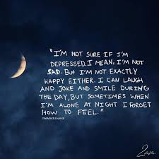 i m not sure if i m depressed the minds journal