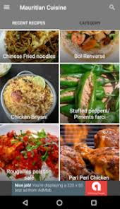 mauritian cuisine 100 easy recipes mauritian cuisine mauritius food recipes apps on play