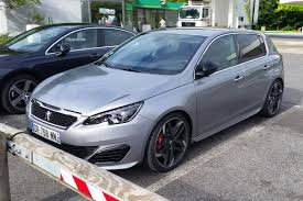 peugeot family car peugeot 308 gti spied undisguised for the first time auto