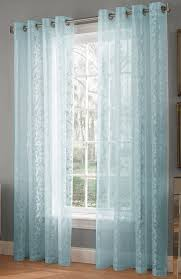 White And Teal Curtains Royale Lace Curtains White Lorraine White Curtains