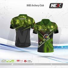 desain kaos archery jersey archery dari vendor baju panahan terbaik