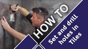 Drilling Into Bathroom Tiles How To Cut Tiles Around Pipes And Drill Holes In Bathrooms