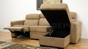 Microfiber Sectional Couch With Chaise Living Room Couch With Chaise And Recliner Sectional Sofas Photo