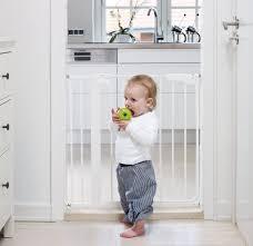 Extra Wide Pressure Fit Safety Gate Babydan Danamic True Pressure Fit Safety Gate White Amazon Co