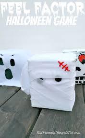 halloween fear factor game for kids u0026 craft idea