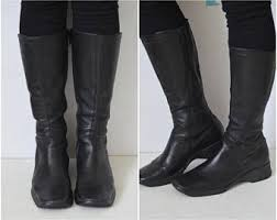 womens leather boots uk s boots etsy uk
