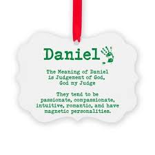 the meaning of daniel ornament by itsallinthename