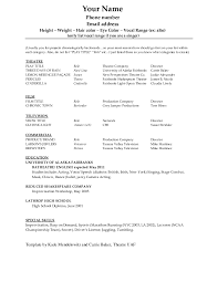 Attractive Resume Template Resume Template Cv Form Format Free Templates In Word Within 93