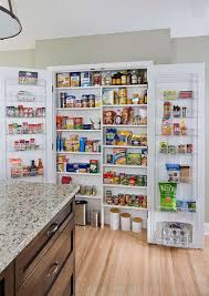 decorations tall white laminated wood kitchen pantry decor with