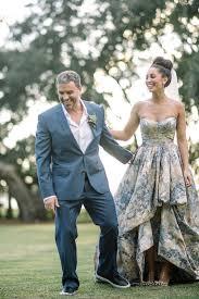 non white wedding dresses 100 colorful non white wedding dresses hi miss puff