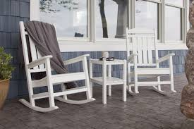 Recycled Plastic Rocking Chairs Decor Wooden Rocking Chairs Outdoor With Recycled Plastic Outdoor