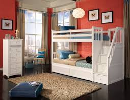 More Bunk Beds Room White Stair Bunk Three Drawers Roomy