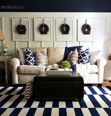 Blue And Brown Living Room by Brown And Blue Living Room Decor Home Decorations