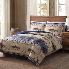 Fishing Crib Bedding Bedding Design Remington Fly Fishing Printed Lodge