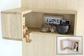 Free Wood Corner Shelf Plans by How To Make A Floating Corner Shelf Merrypad