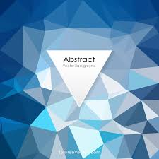 blue abstract polygonal pattern background illustrator