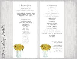 wedding program wording exles order of ceremony wedding program template the best wedding of 2018
