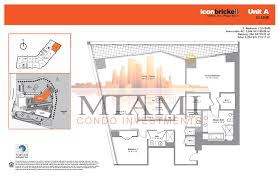 Icon Floor Plan by 28 Icon Condo Floor Plan Icon Brickell Condos In Miami 465