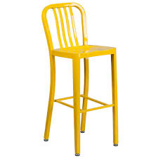 Painted Metal Vintage Cosco High Chair Bar Stools Kitchen U0026 Dining Room Furniture The Home Depot