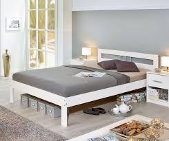 Schlafzimmer Komplett 140 Cm Bett Preiswertes Schlichtes Komplett Schlafzimmer Kiefer Massiv Genf