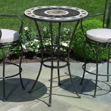 Aluminium Patio Table Furniture Enjoying Durable And Quality Cast Aluminum Patio