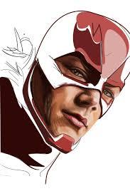 the flash fan art fan art the flash on behance