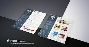 Best Resume Templates With Photo by Best Job Resume Format With Business Card Free Psd Templates