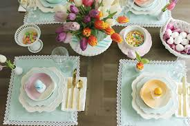 Spring Easter Table Decorations Darling Darleen