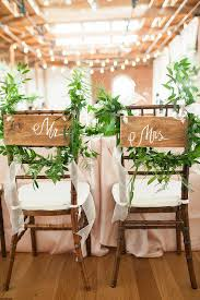 wedding chair 30 awesome wedding sign decor ideas for groom chairs