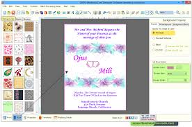 Wedding Invitation Card Maker Wedding Card Maker Software To Design And Print Wedding Cards