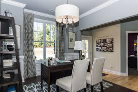 home office window treatments bedroom transitional home office with chevron window treatment also
