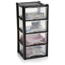 Plastic Shelving Unit by Storage Unit 4 Drawer Assorted Drawers Storage And Plastic Storage