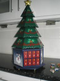 kirkland large wooden advent calendar in baldock hertfordshire