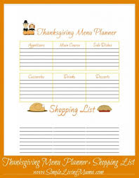 thanksgiving menu template eliolera