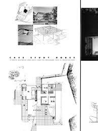 case study houses floor plans entenza house case study house 9 charles eames et eero saarinen