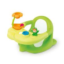 siege de bain smoby siège de bain cotoons smoby vert jouet pour le bain fnac