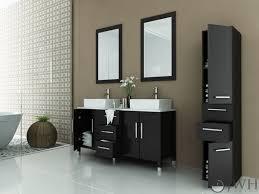 59 Inch Double Sink Bathroom Vanity by Jwh Living 59 U0026quot Sirius Double Vessel Sink Vanity Stone Top
