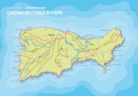 Capri Italy Map by Vygogo Capri Italy Map