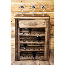 wine rack cabinet over refrigerator homestead barnwood wine rack cabinet contemporary inside 13