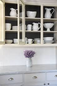 do you paint inside of cabinets decked styled home tour honey we re home
