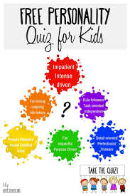 personality test for kids take the free quiz today personality