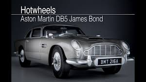 vintage aston martin white hotwheels aston martin db5 james bond youtube