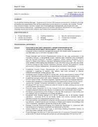 Facility Manager Resume Sample by D Ford Resume 3 14 10
