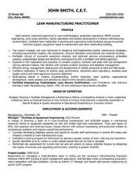 Resume For Manufacturing Download Production Engineer Sample Resume Haadyaooverbayresort Com