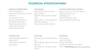 279 95 authentic geeetech rostock 301 mix color 3d printer diy