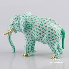 Porcelain Elephant Elephant Herend Figurines Herend Porcelain Animals