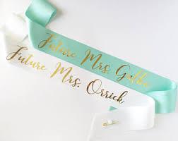 custom sash custom sash etsy