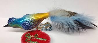 pheasant ornament by hausdörfer glas manufaktur