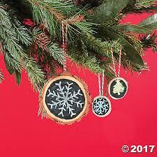chalkboard ornament idea